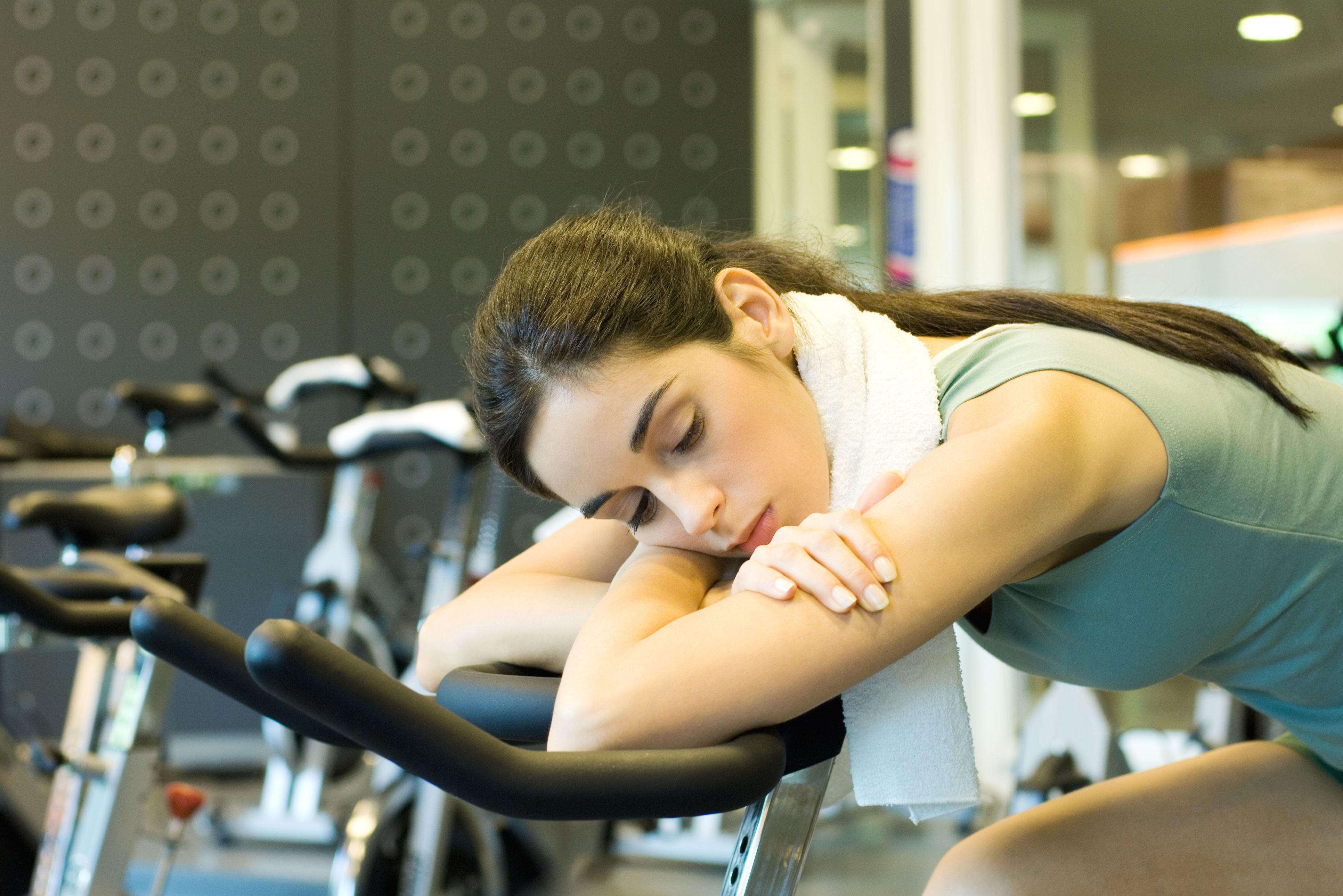 5 Gründe, warum Sie sich nicht an ein Trainingsprogramm